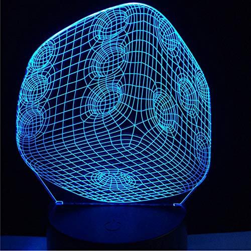 Hlfymx 3D -Usb -Led -Lampen -Raum Gadget Props Optische Quelle Acryl -Licht -Geschenk