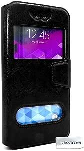 CEKATECH/® Universelle Protection de qualit/é Couleur Noir Housse Etui Compatible avec Hisense Infinity F24