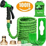 Suplong Expandable Garden Water Hose Pipe - 100FT Magic Expanding Hose with 3/4""