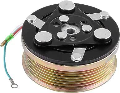 compressore AC Piastra bobina cuscinetto cuscinetto puleggia frizione per A//C 1.7L 2001-2005 S08OGBC001 Set comprendente vite della Piastra bobina cuscinetto cuscinetto puleggia frizione