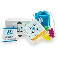 GAN 356 M, Cube de Vitesse Magnétique 3x3 Cube Magique Gan356M avec GES Supplémentaire, Stickerless (ver.2020)