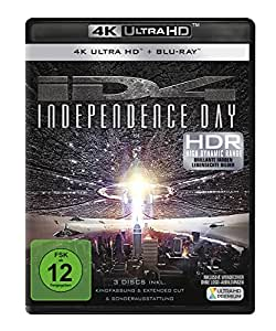 Independence Day (+ 4K Ultra HD Bluray) [Blu-ray]
