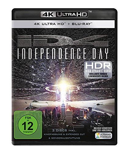 Independence Day - Ultra HD Blu-ray [4k + Blu-ray Disc]