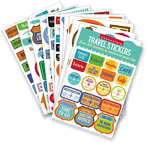 Produktbild Essentials Travel Planner Stickers