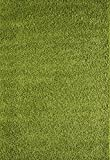 A2Z RUG SOFT SUPER THICK SHAGGY RUGS Green 120X170 CM - 3'9''X5'5''
