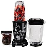 Wonderchef Nutri-Blend Mixer Grinder, 400W, 3 Jars (Black)