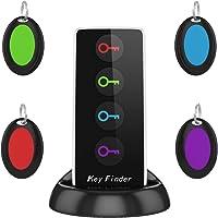 AOGUERBE Localisateur d'objets Key Finder Clés Tracker Téléphone Localisateur sans Fil GPS LED Traceur Intelligent Anti…