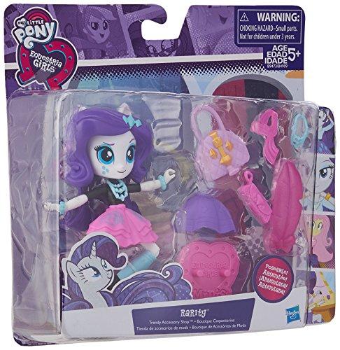 My Little Pony Equestria Girls Rarity trendy accessori Shop set