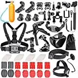 Bestter 62-in-1 Accessori Kit per GoPro Hero 5 Session/Hero Session/Hero 6 5 SJ4000 SJ7000 DBPOWER AKASO VicTsing APEMAN WiMiUS Rollei QUMOX Lightdow Campark e Sony Sport DV
