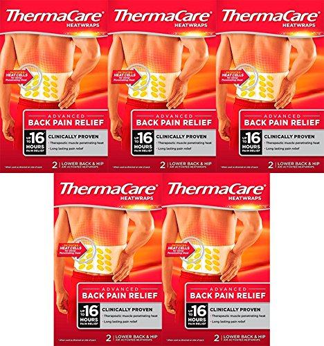 ThermaCare - Fasce autoriscaldanti per i dolori della schiena (Confezione da 5)