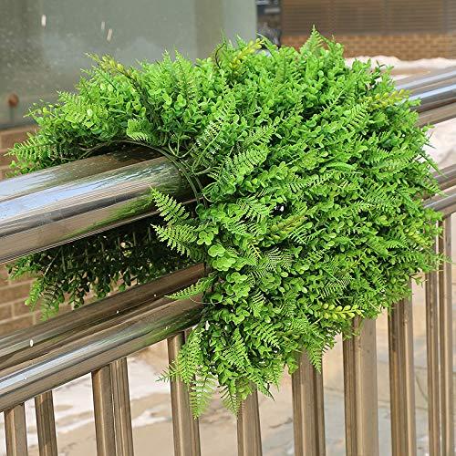 sz piastra 60 x 40 cm erba verde artificiale espositore da giardino verticale artificiale per decorazione della casa