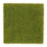 Ikea HAMPEN–Teppich, Hochflor, Bright Grün–80x 80cm