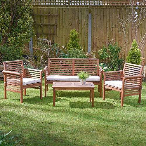 Plant Theatre Hardwood Garden Sofa Armchair with Cushion included