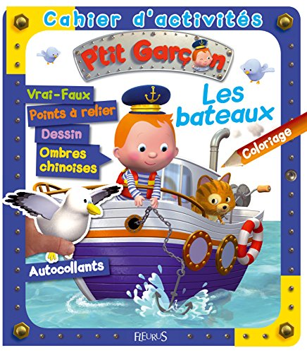 Cahier d'activités les bateaux par