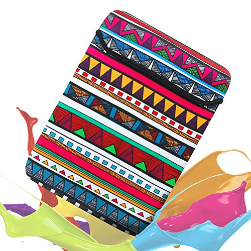sinoguo-soft-neoprene-water-resistance-sleeve-colorful-exotic-style-pattern-both-sides-bag-handmade-