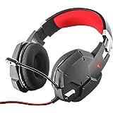 Trust Cuffie Gaming GXT 322 Carus con Microfono Flessibile, 3.5 mm Jack, Filo, Over Ear, Controllo del Volume ed Esclusione A