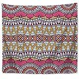 JokerDmask Tapisserie Murale Ou Drap De Plage Mandala Hippie Gypsy Bohème Indian Nappe Châle Rustique Bohème