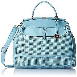 Diana Korr Women's Handbag (Blue) (DK34HBLU)