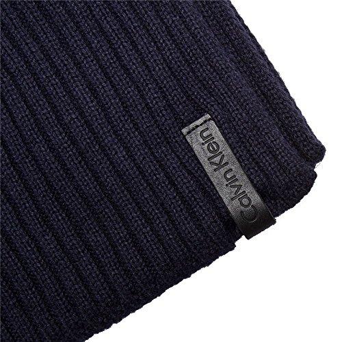 Calvin Klein - Echarpes K50k501335 421 Navy Bleu