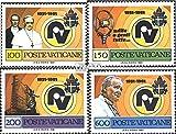 Vatikanstadt 779-782 (completa.Problema.) 1981 Radio Vaticano (Francobolli ) - Prophila Collection - amazon.it