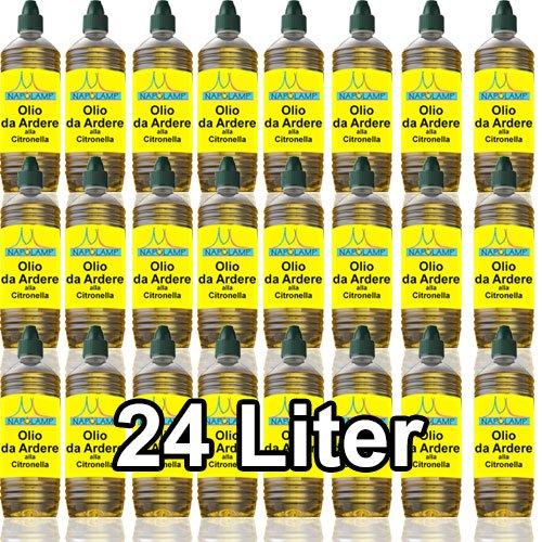 Huile pour lampes et flambeaux à la citronnelle (24litres)