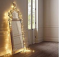 Salcar Catena luminosa a LED, 10m per interni ed esterni
