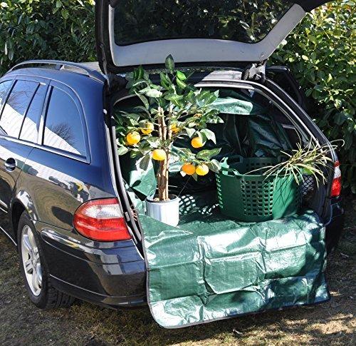 Preisvergleich Produktbild EASYmaxx Kofferraumschutz Transportsack Abfallsack Gartensack Laubsack Rasensack