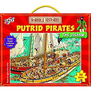 Galt Toys Horrible History Putrid Pirates the Jigsaw