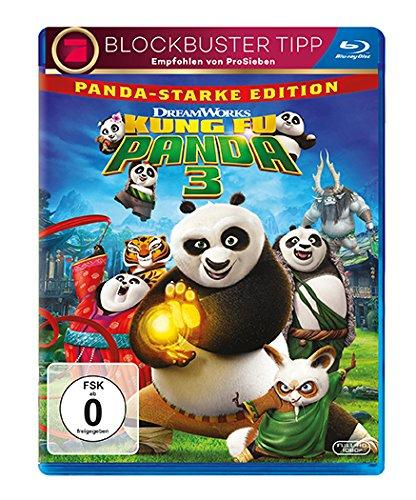 Kung Fu Panda 3 [Blu-ray] -