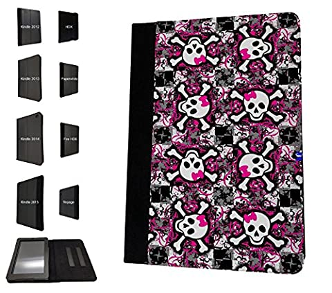 1389 - Cool Fun Trendy cute kwaii skull collage wallpaper