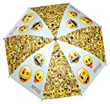 Emoji Regenschirm Stockschirm Emoticon Smiley Winky 48cm
