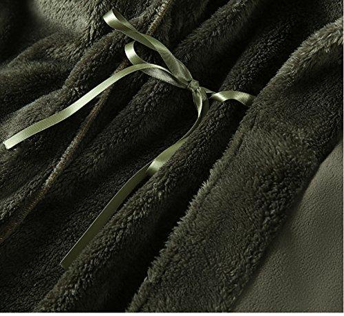 Signora Flanella Inverno Camicia Da Notte Più Spesso E Più A Lungo Caldo Velluto Corallo Accappatoio Di Grandi Dimensioni Servizio Sciolti A Casa Cinque Colori Opzionali C