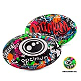 OPTIMUM Ballon de Rugby Street II pour Homme, Multicolore, Mini Unisex-Youth