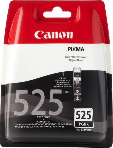 Canon PGI-525 PGBK Original Tintenpatrone, 19ml pigmentschwarz