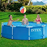 Intex Aufstellpool Frame Pool Set Rondo, Blau, Ø 305 x 76cm -