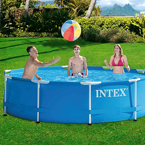 Intex Aufstellpool Frame Pool Set Rondo, Blau, Ø 305 x 76cm -