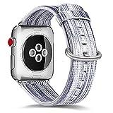 Bracelet pour Apple Watch, YUYOUG Mode Rainbow Bracelet de Montres Bracelet de...