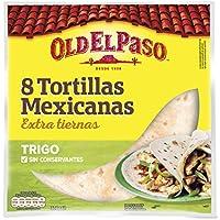 Old El Paso 8 Tortillas Mexicanas de Trigo - 326 g