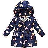 Leeharu - Abrigo de invierno para niña con capucha