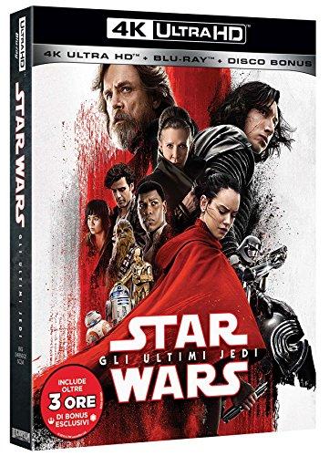 Star Wars - Gli Ultimi Jedi (Blu-Ray 4K Ultra HD+2 Blu-Ray)