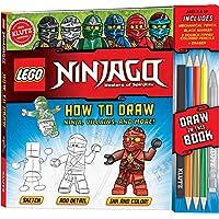 LEGO NINJAGO: How to Draw Ninja, Villains and More (Klutz)