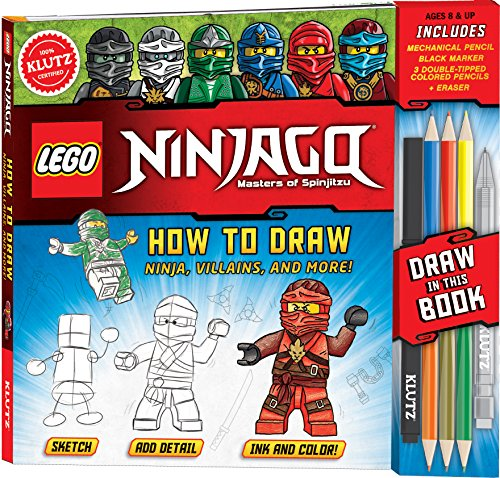 LEGO NINJAGO: How to Draw Ninja, Villains and More (Lego Ninjago: Masters of Spinjitzu) (Master Ninja)