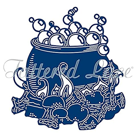 Tattered Lace CAULDRON Die TLD0615 - From the Halloween 2017 Collection - FREE 1st Class UK P&P