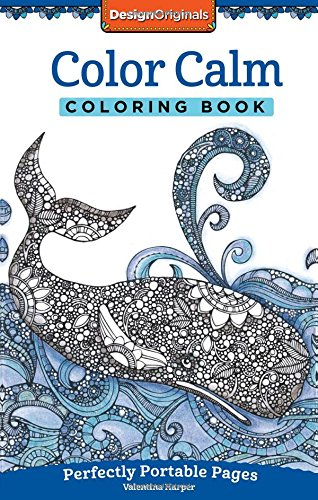 Color Calm Coloring Book: Perfectly Portable Pages (On the Go)