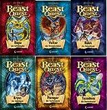 Beast Quest V. Staffel Band 25 - 30 im Set (25. Rapu der Giftkämpfer + 26. Voltor der Himmelsrächer + 27. Rokk die Felsenfaust + 28. Kryos der Eiskrieger + 29. Paragor der Teufelswurm + 30. Toxoderea die Raubschrecke)