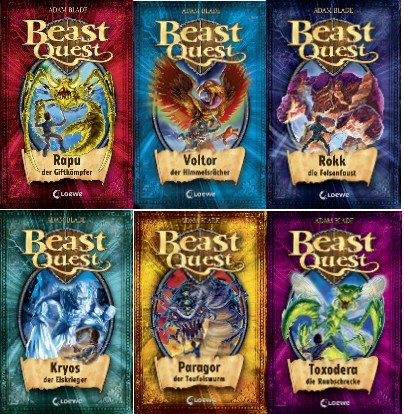 beast-quest-v-staffel-band-25-30-im-set-25-rapu-der-giftkampfer-26-voltor-der-himmelsracher-27-rokk-