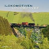 Lokomotiven 2017 - Locomotives - Broschürenkalender (30 x 60 geöffnet) - Eisenbahnkalender - Trains - Wandplaner