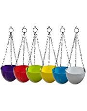 Truphe Multicolor Hanging Pots for Garden and Balcony - Nest Pots