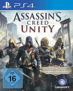 Assassin's Creed Unity - Special Edition - [Playstation 4] (B00MFUFLD4) | Amazon price tracker / tracking, Amazon price history charts, Amazon price watches, Amazon price drop alerts