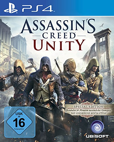 Assassin's Creed Unity - Special Edition - [Playstation 4] (Alle Die Assassins Creed Spiele)
